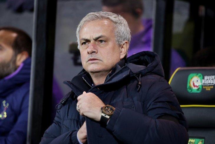 Liga Inggris: Norwich vs Tottenham, Mourinho sesalkan penampilan timnya