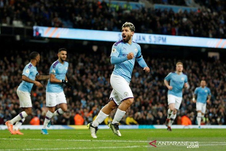 Liga Inggris, Manchester City hentikan rekor tandang Sheffield United
