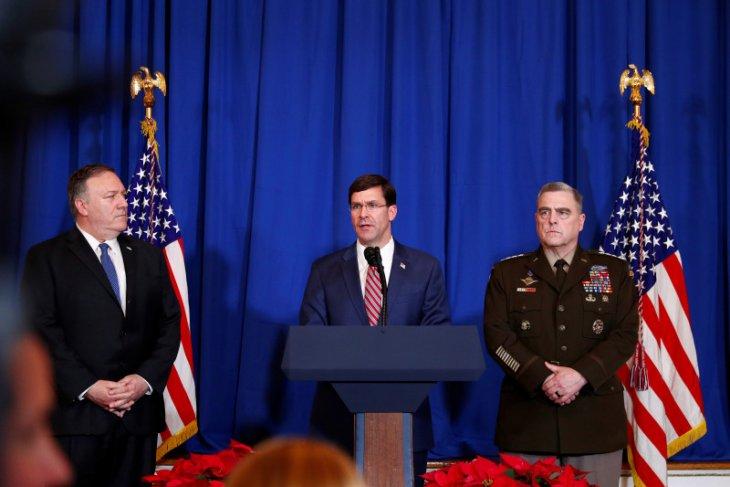 Jenderal Milley: Serangan roket Iran bertujuan membunuh personel AS