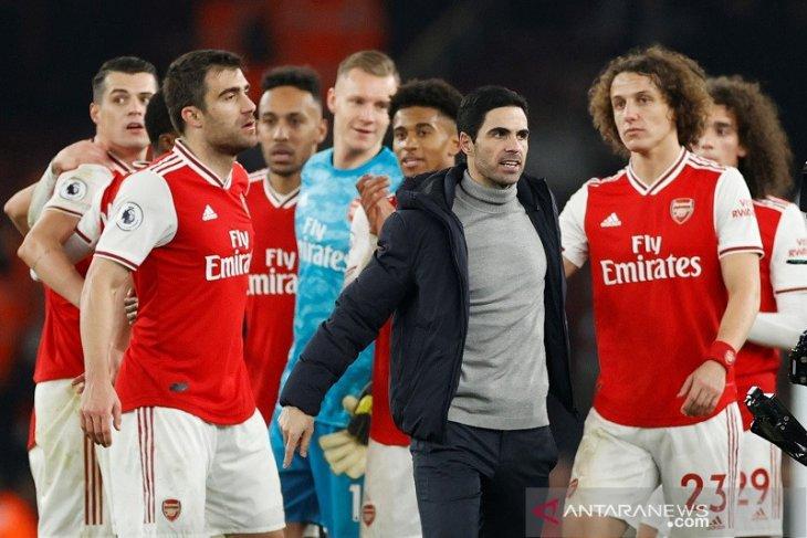 Arsenal akhirnya menang usai bekuk Manchester United 2-0