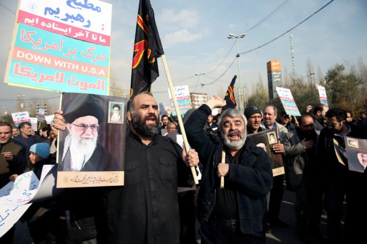 Iran sebut serangan rudal terhadap AS