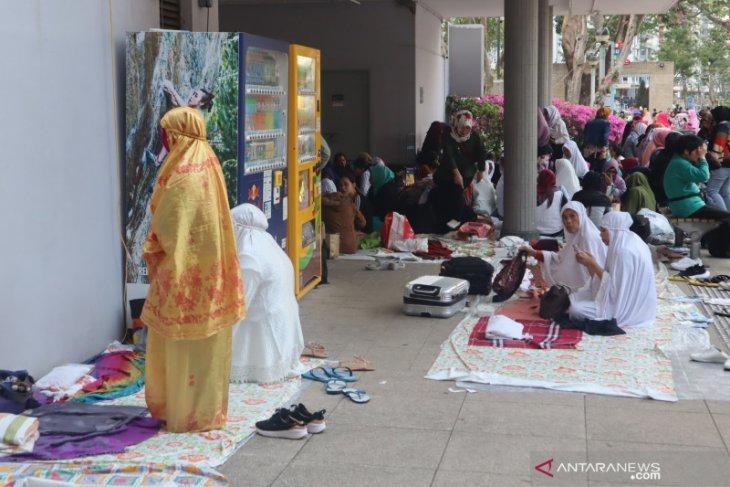 86 pekerja migran Indonesia di Hong Kong menggondol gelar sarjana