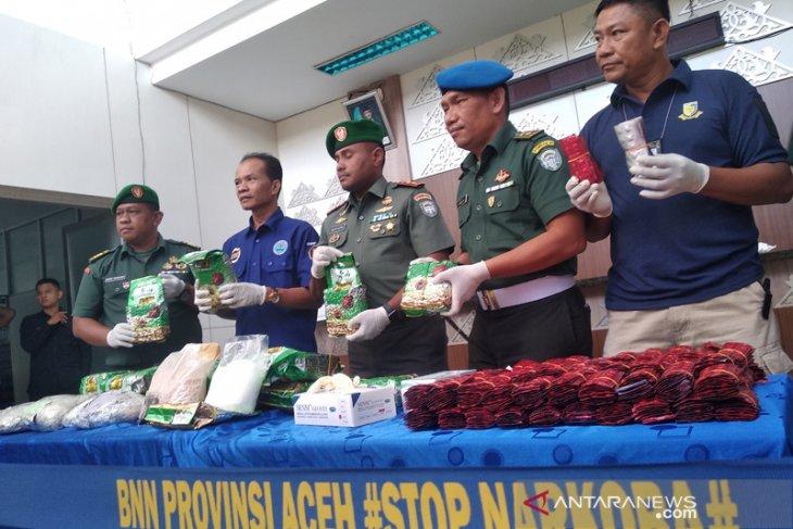 BNN selidiki temuan belasan kilogram sabu-sabu di Aceh Tamiang
