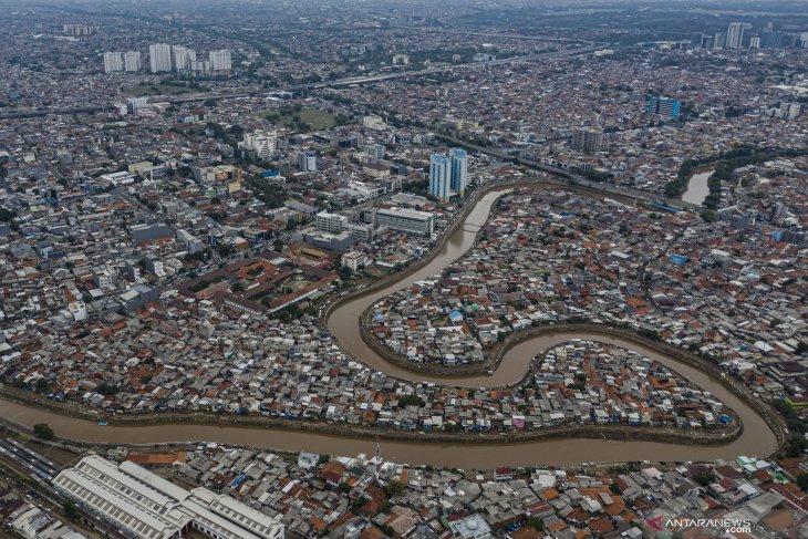 Naturalisasi sungai di Jakarta tak capai target