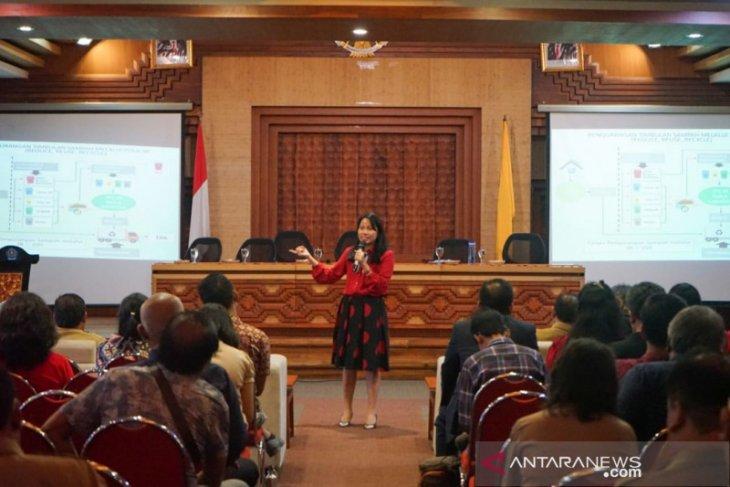 DLHK  sosialisasikan pengolahan sampah pada masyarakat Denpasar