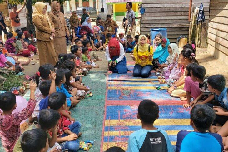 Trauma healing bagi anak korban banjir bandang Labura