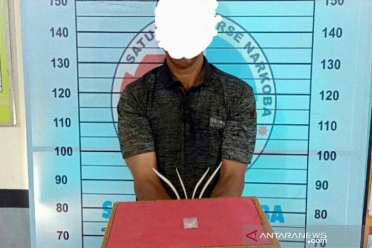 Polisi Aceh Utara ciduk pria ini terkait sabu