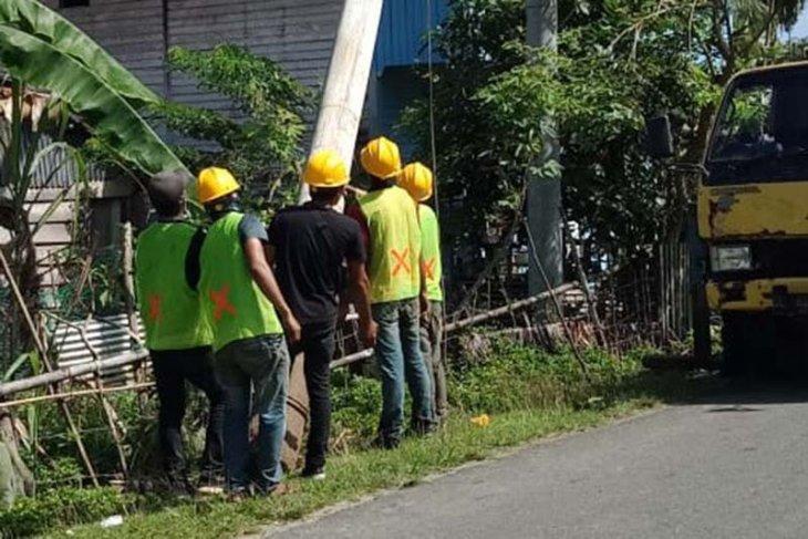 PLN UIW Aceh Normalkan listrik pascagempa Sinabang