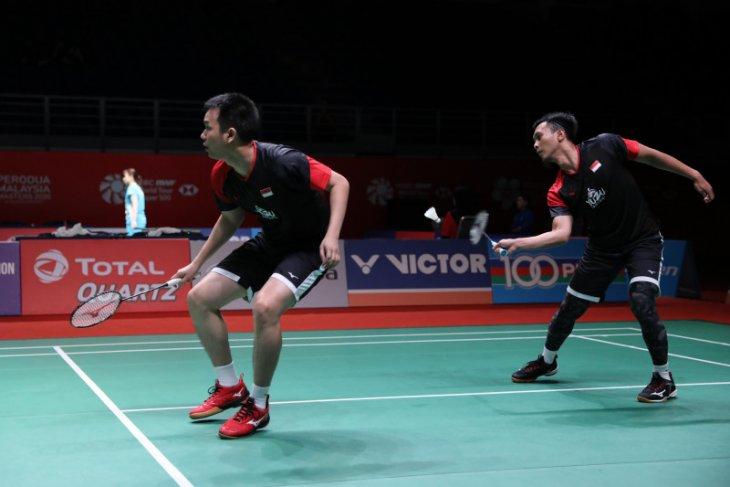 Ahsan/Hendra susul Fajar/Rian  ke babak dua Malaysia Masters