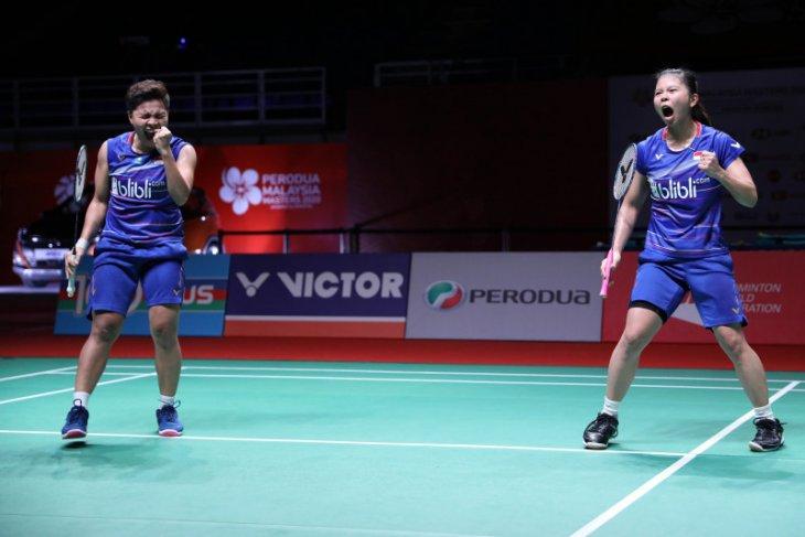 Malaysia Masters, Greysia/Apriyani rebut tiket ke perempat final