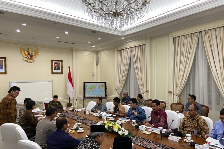 Ma'ruf Amin chairs limited meeting on handling radicalism