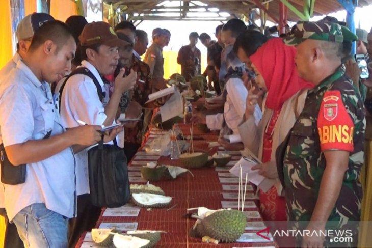 Duri Hitam keluar sebagai juara kontes Durian Banjar 2020