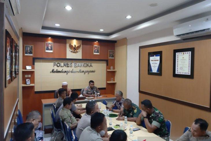 Pemerintah Kabupaten Bangka mantapkan pembentukan tim terpadu penanggulangan bencana