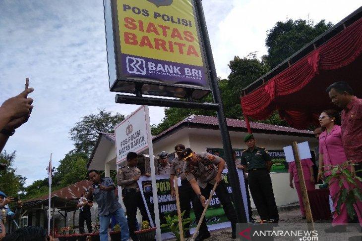 Resmikan pos polisi Siatasbarita, AKBP Horas : Percepat pelayanan