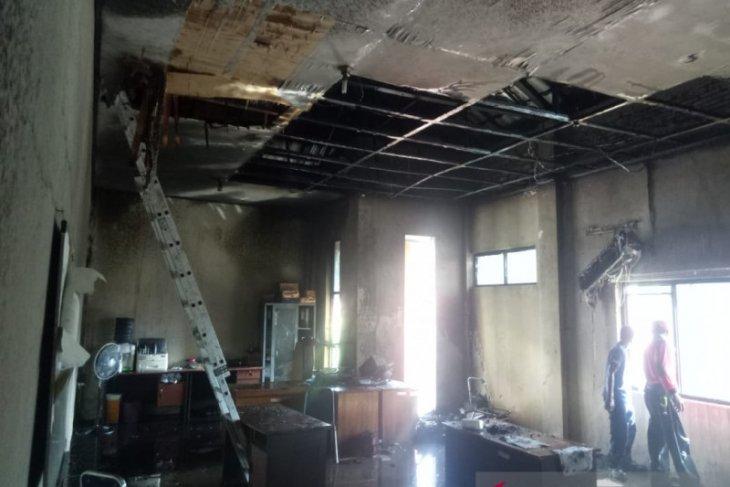 Polisi  Arus pendek picu kebakaran di kantor BPN Maluku