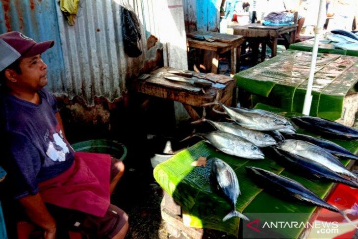 Ikan cakalang segar di pasar Ambon mahal