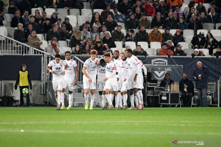Lyon bangkit untuk atasi tuan rumah Bordeaux
