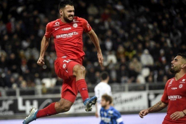 Liga Prancis, Montpellier, Brest menang atas tuan rumah