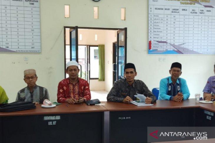 FKUB HST tetapkan Desa Kundan sebagai Desa Sadar Kerukunan