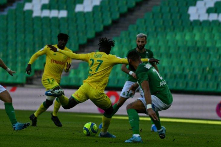 Liga Prancis, Nantes pecundangi Saint-Etienne 2-0