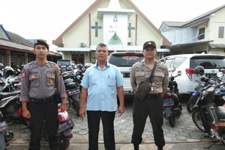 Polres Bangka terjunkan 60 personel jaga gereja