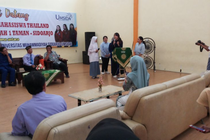Setelah Jepang, giliran mahasiswa Thailand magang di Smamita Sidoarjo