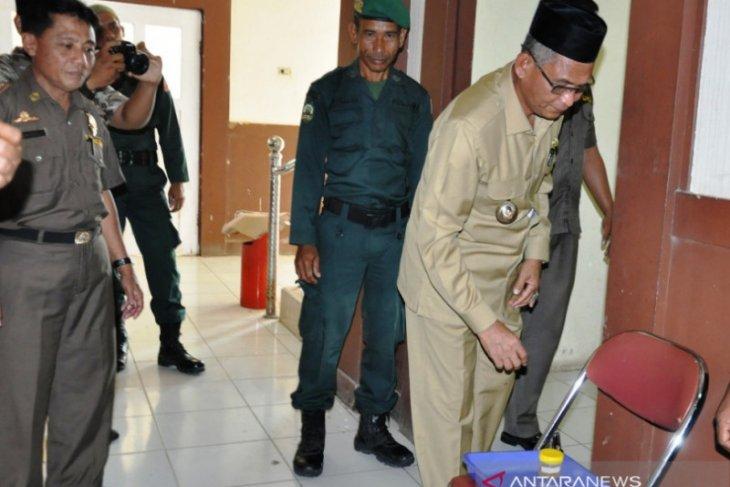 Bupati Nagan Raya Aceh dan 124 ASN dites urine