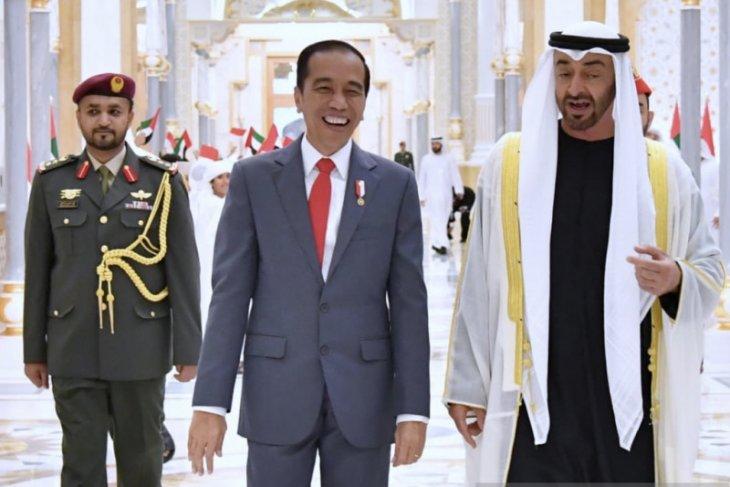 Mohamed bin Zayed ingin Jokowi anggap UEA sebagai rumah kedua