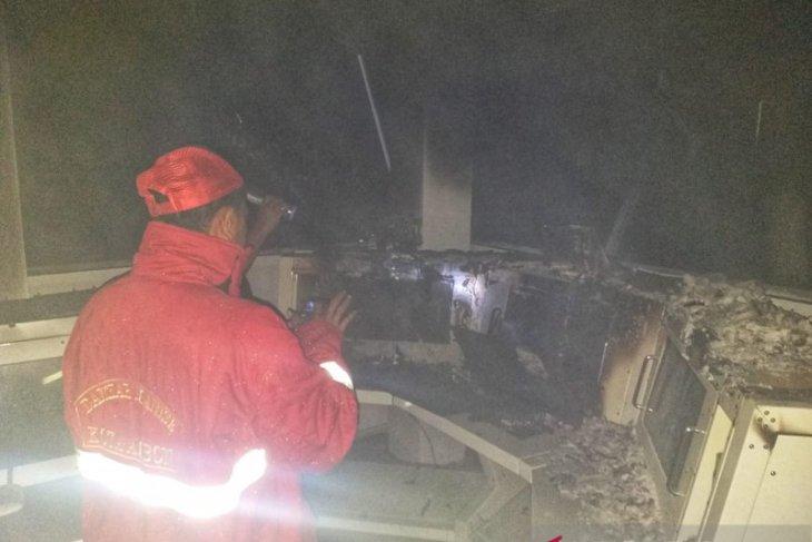 Polisi benarkan ruangan kantor Bakamla Ambon terbakar