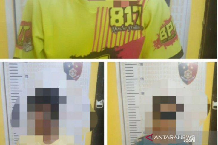 Polsek Toboali ringkus tiga anak dibawah umur, tersangka kasus Anirat