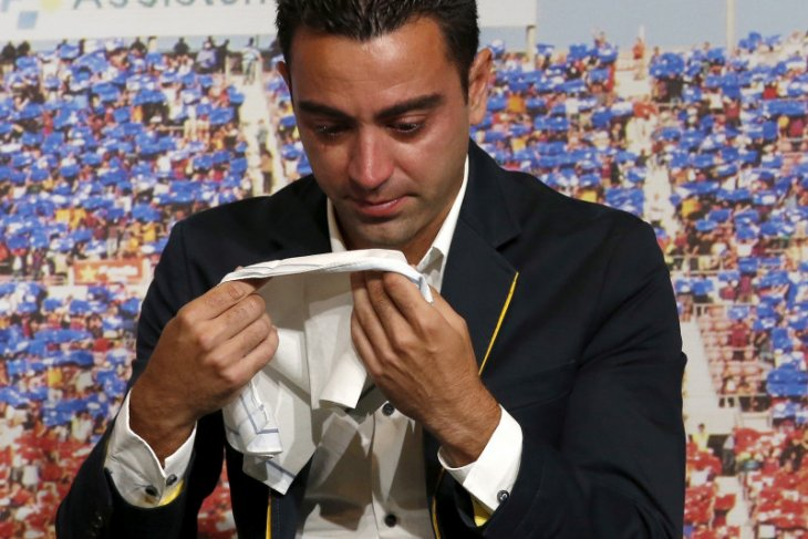 Liga Spanyol - Nasib Xavi Hernandez tidak pasti setelah Satien latih Barcelona