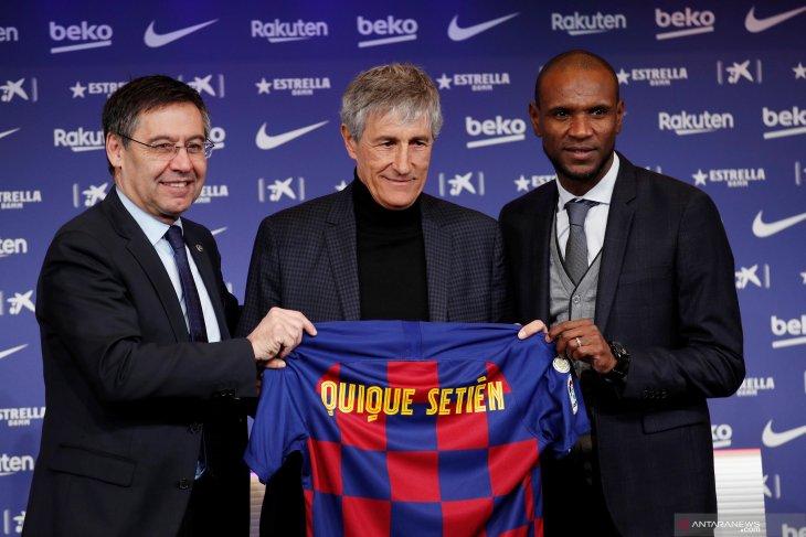 Liga Spanyol - Quique Setien: Saya cinta DNA Barca, saya akan memberi sentuhan