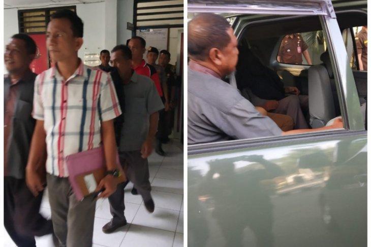Mantan Kades Bubun Tanjung Pura bersama dua rekannya ditahan dalam kasus korupsi