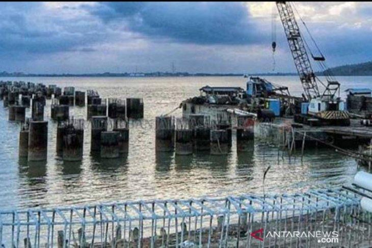 Pembangunan jembatan Pulau Laut-Pulau Kalimantan diharapkan segera terwujud