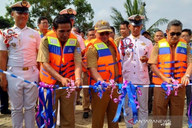 Gubernur Bangka Belitung luncurkan kapal latih SMKN Pelayaran
