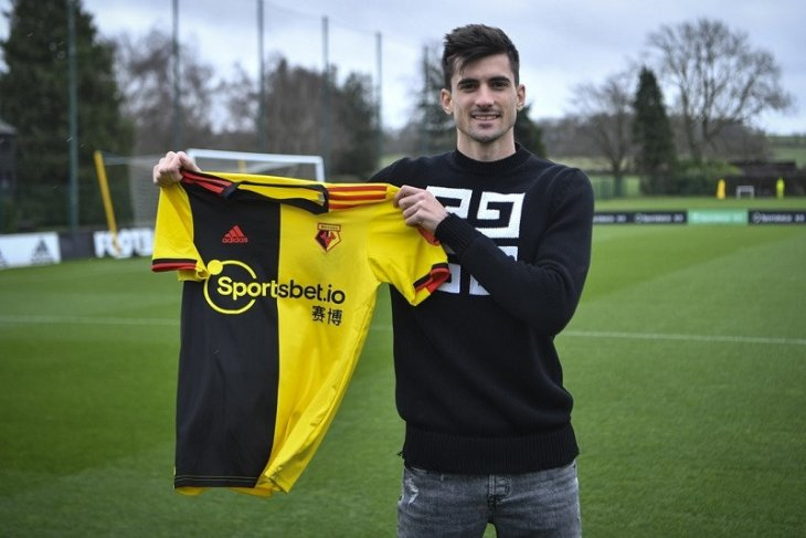Klub Watford boyong Ignacio Pussetto dari Udinese