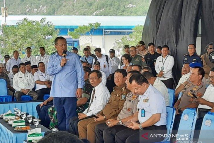 Menteri akan evaluasi ekspor budi daya perikanan di Natuna
