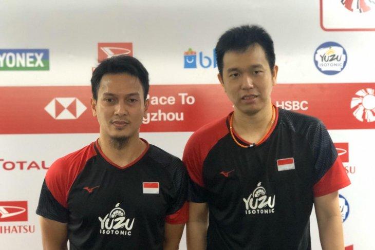Indonesia Masters: Hendra/Ahsan lolos dari tekanan ganda India
