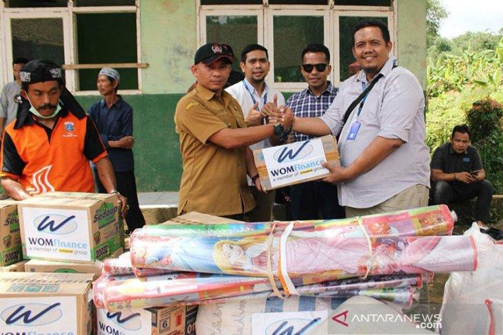 Bantuan korban bencana di Kabupaten Bogor masih terus berdatangan