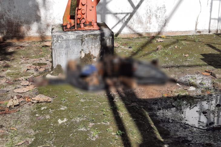 Penemuan mayat membusuk di bawah tower Telkomsel
