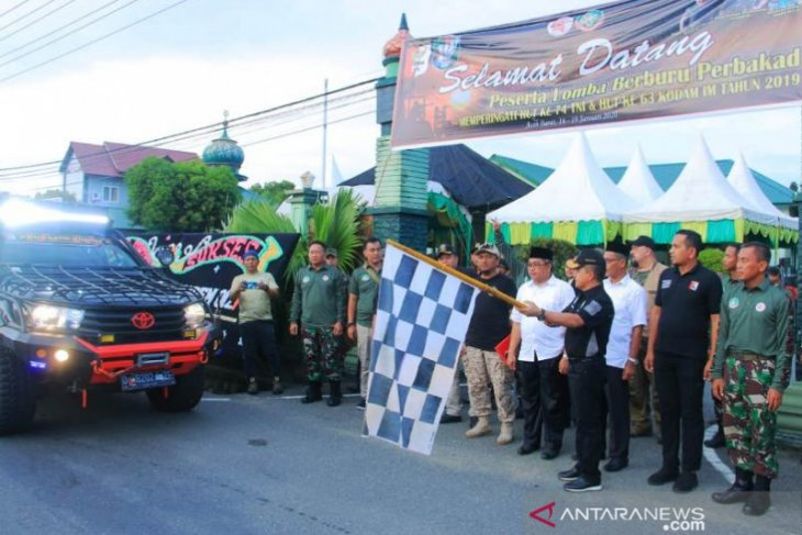 Puluhan tim ramaikan lomba berburu hama babi di barat Aceh