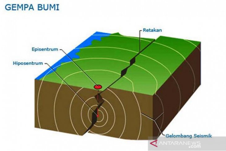 Gempa di Kupang akibat tumbukan lempeng Australia dan Eurasia