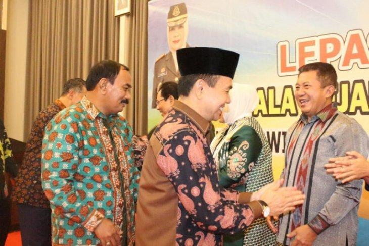 Wabup Amir Sakib hadiri pisah sambut Kajati Jambi.