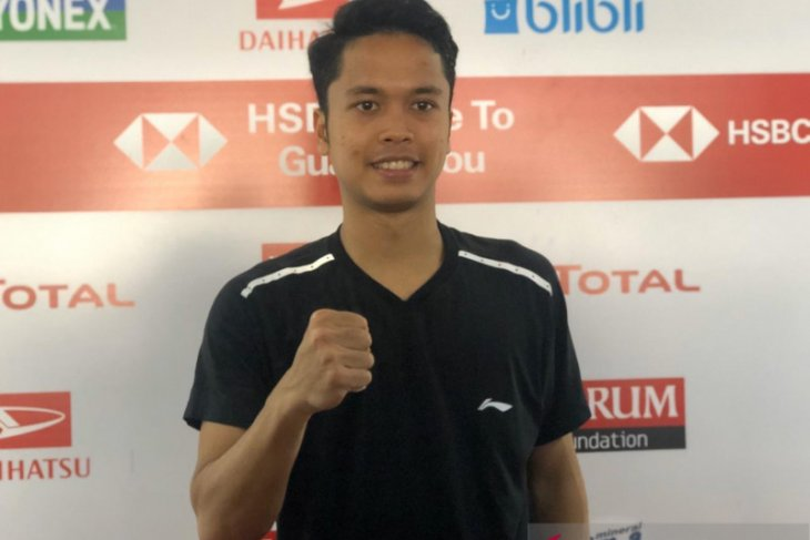 Indonesia Masters, Anthony ke semifinal Indonesia Masters setelah balas kalahkan Huang