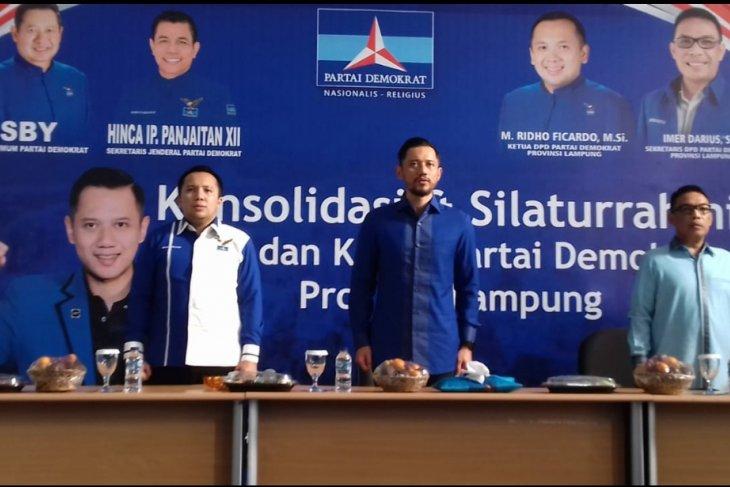 Pada pilkada serentak di Lampung ,Partai Demokrat yakin meraih sukses