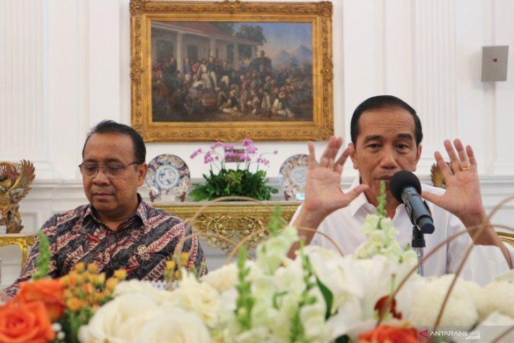 Jokowi nilai UU baru KPK tidak melemahkan