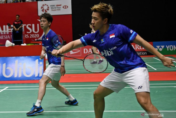 Lima wakil Indonesia lolos ke semifinal Indonesia Masters