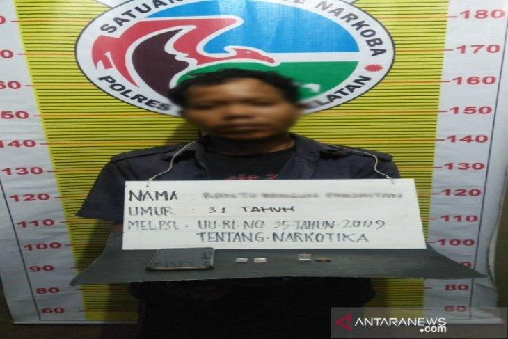 Karyawan PTPN III Hapesong ditangkap karena kasus sabu