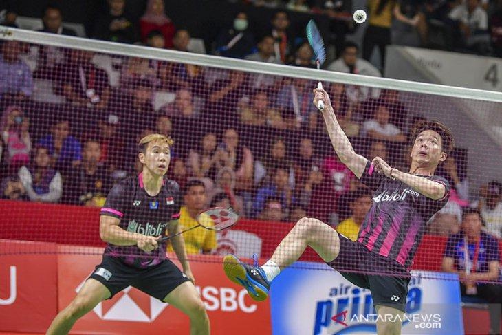 Kevin/Marcus susul Hendra/Ahsan ke semifinal Indonesia Masters