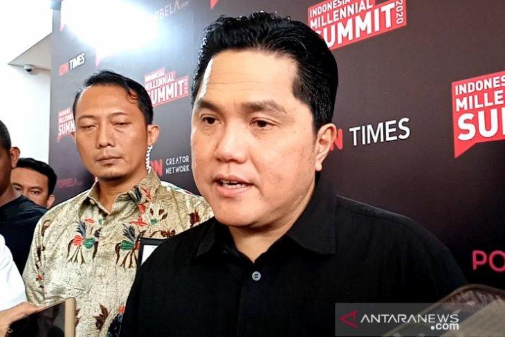 Menteri Erick tanggapi santai teror terkait Jiwasraya-Asabri